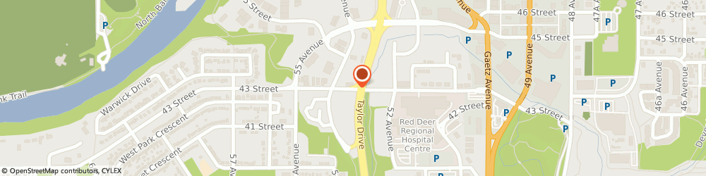 Route/map/directions to Associate Massage Therapy Clinic, T4N 1C8 Red Deer, 115-5301 43 St