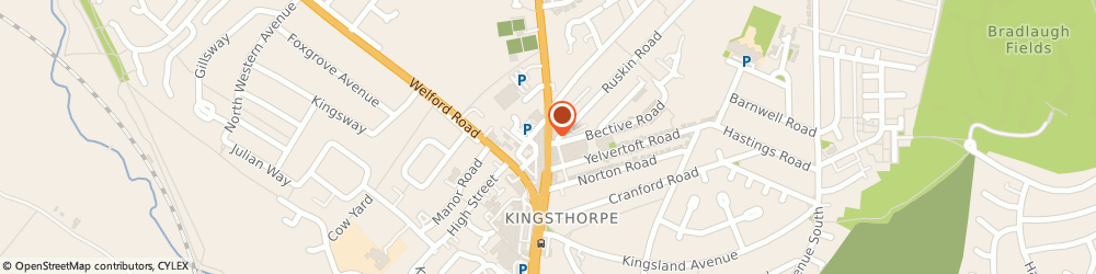 Route/map/directions to Moss Chemists, NN2 7SL Northampton, 75 HARBOROUGH ROAD
