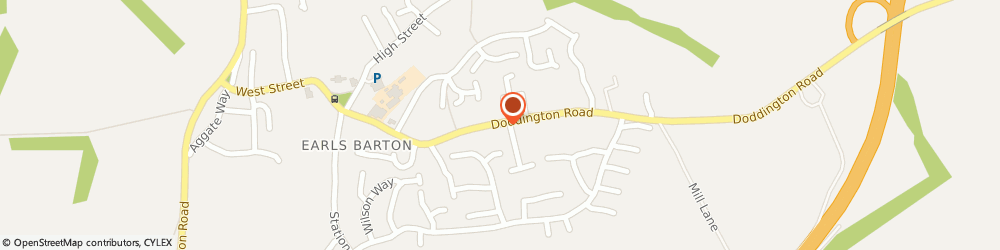 Route/map/directions to UPS Solutions Logistics, NN6 0NF Northampton, 42 Doddington Road