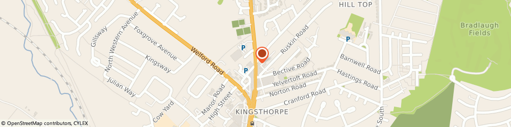 Route/map/directions to Barclays Bank, NN2 7SL Northampton, 99 Harborough Road