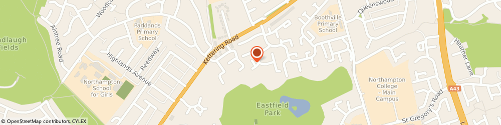Route/map/directions to PFT Services, NN3 6FF Northampton, 8 Attlee Close