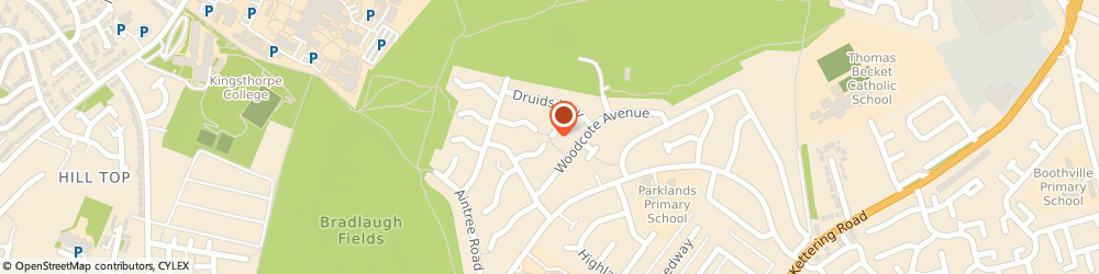 Route/map/directions to DK PLUMBING SERVICES LTD, NN3 6EP Northampton, 20 Grendon Walk