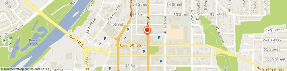Route/map/directions to ATB Financial, T4N6V4 Red Deer, 4911 51 St