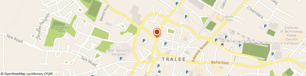 Route/map/directions to Soundcraft,  Tralee, 15 PEMBROKE STRET