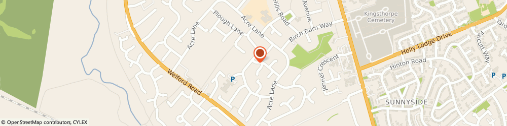 Route/map/directions to Russel Brown, NN2 8BQ Northampton, 40, ROOKERY LANE