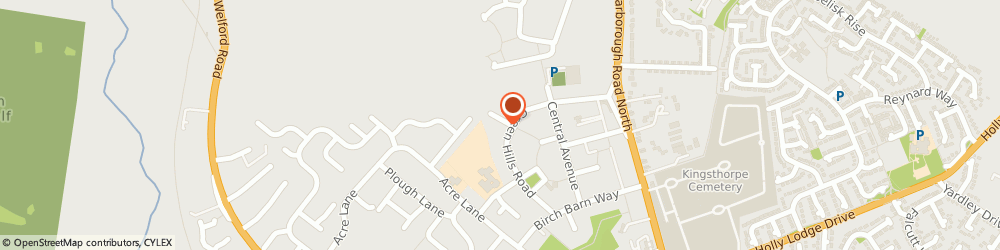 Route/map/directions to 4-Paws, NN2 8EL Northampton, 33A Greenhills Road