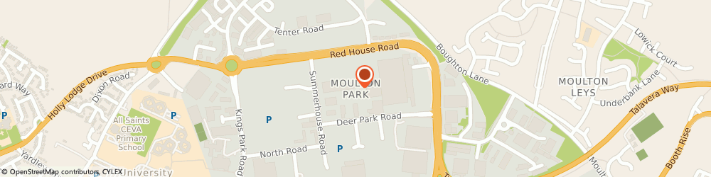 Route/map/directions to TWO BROS RESTAURANT BRANDS LIMITED, NN3 6AP Northampton, Moulton Park