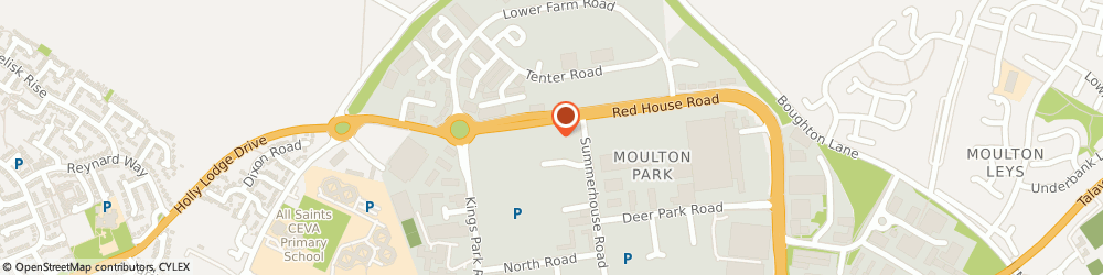 Route/map/directions to DYSC IT Solutions, NN3 6BJ Northampton, Regents Pavilion, 4 Summerhouse Road