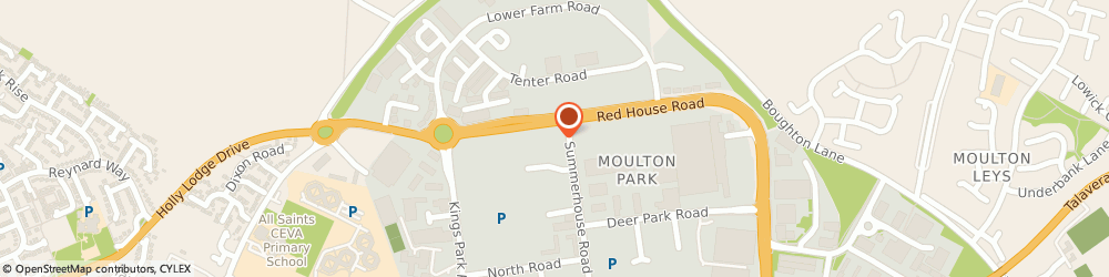Route/map/directions to Opus Energy Limited, NN3 6BJ Northampton, 2 Summerhouse Road