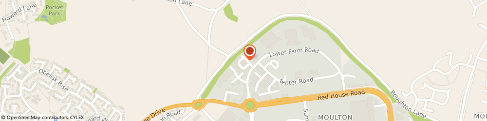 Route/map/directions to GPS Perimeter Systems, NN3 6HY Northampton, 14 Low Farm Pl