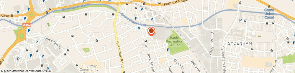 Route/map/directions to Falcon Appliances, CV31 2AD Leamington Spa, Clarence St