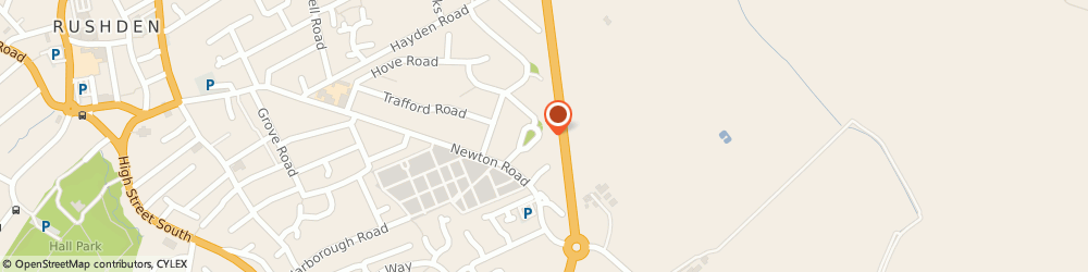 Route/map/directions to Northampton Heating Services Ltd, NN10 0HS Northampton, 24 headingley road