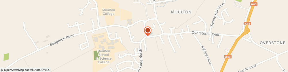 Route/map/directions to The Co-operative Food - Moulton, NN3 7TB Northampton, Stocks Hill