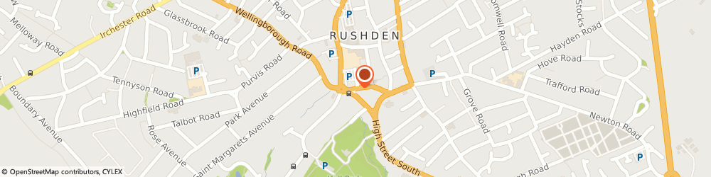 Route/map/directions to Windsor, NN10 9YT Rushden, 26 Church Street