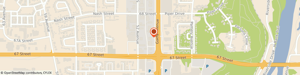 Route/map/directions to Speedy Glass, T4N 4E1 Red Deer, 6752 Gaetz Avenue