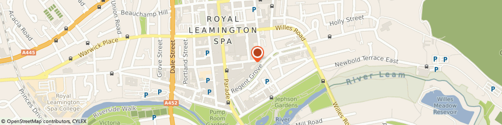 Route/map/directions to The Cook Shop, CV32 4NR Leamington Spa, 112 Regent St