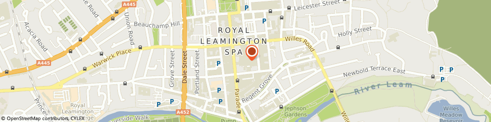 Route/map/directions to COSTA COFFEE, CV32 4XU Leamington Spa, Royal Priors Shopping Centre