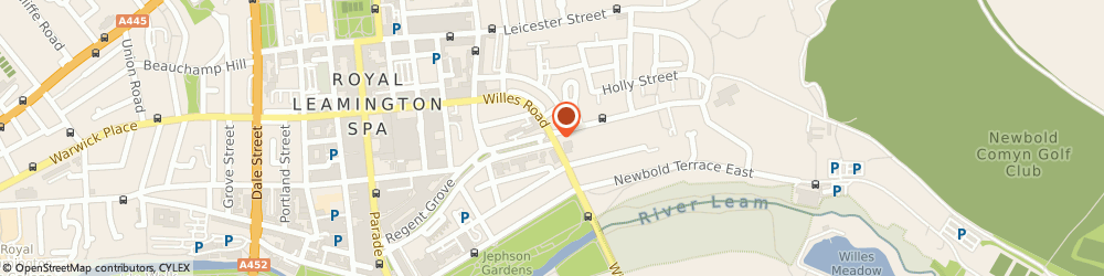 Route/map/directions to Victoria House Leamington Spa, CV32 4PT Leamington Spa, 59 Willes Road
