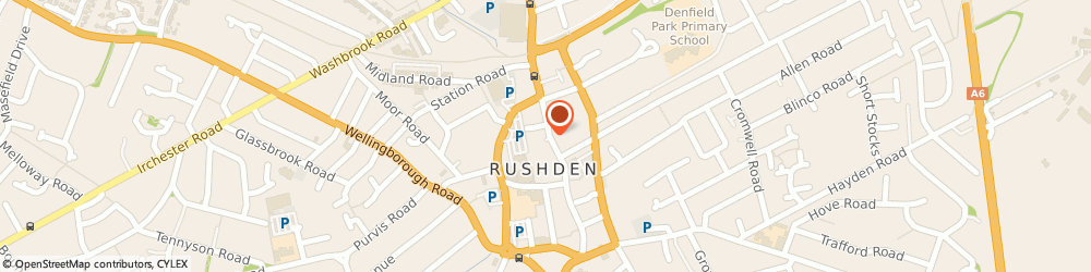 Route/map/directions to Prime Choice, NN10 0NZ Rushden, 123-125 High Street