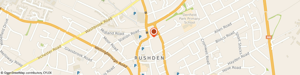 Route/map/directions to haart estate agents Rushden, NN10 0PD Rushden, 120 High Street