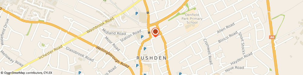 Route/map/directions to Rushden Estate Agents, NN10 0PD Rushden, 120 High Street