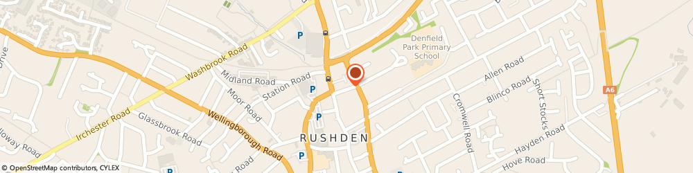 Route/map/directions to psplumbing, NN10 0AH Rushden, 23 Victoria Rd