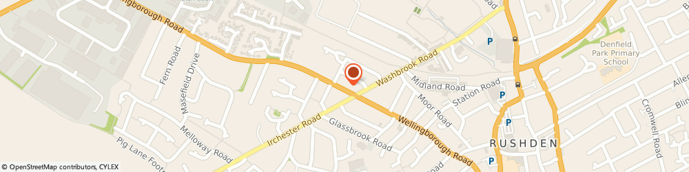 Route/map/directions to Merry's, NN10 9XR Rushden, 248 WELLINGBOROUGH ROAD ABINGTON