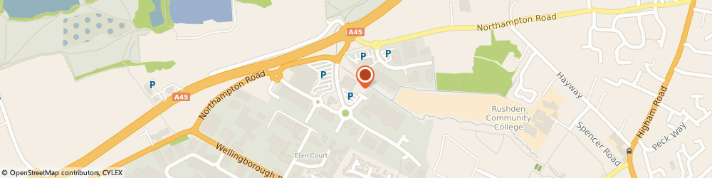 Route/map/directions to Pets at Home Rushden, NN10 6BT Rushden, Unit 2 Crown Way Retail Park