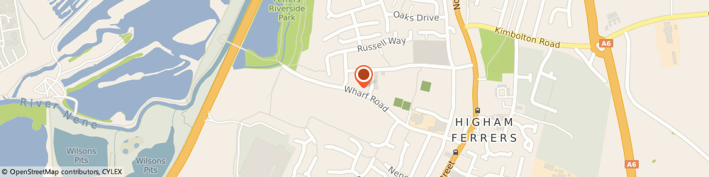 Route/map/directions to JD Gas and Heating Ltd, NN10 8BH Rushden, 64 Wharf Rd