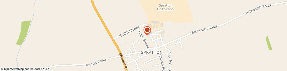 Route/map/directions to LM Fitness, NN6 9TT Northampton, Bakers Lane, Spratton