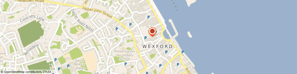 Route/map/directions to Whites For Music,  Wexford, 30 Sth Main St
