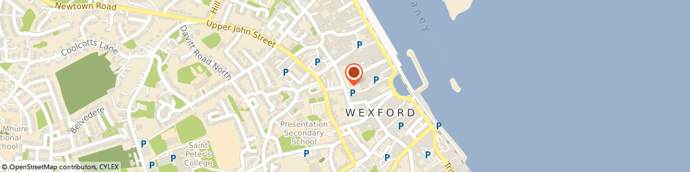 Route/map/directions to Wexford School Of Music, Wexford,  Wexford, ST MARYS SUMMERHILL