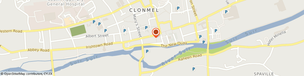 Route/map/directions to New Look,  Clonmel, 12 & 12a O Connell