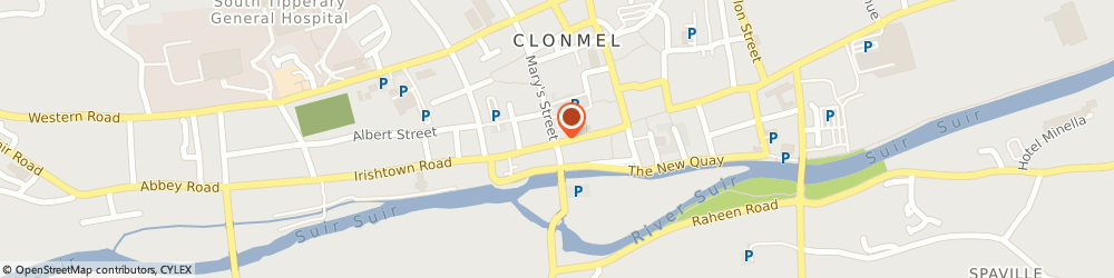 Route/map/directions to JOHN FAHEY & CO, E91 D3T9 Clonmel, 60 O Connell Street