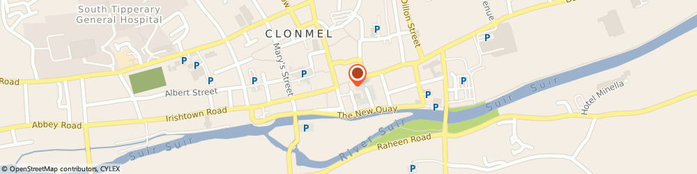 Route/map/directions to Chemise Lingere Swimwear,  Clonmel, 15 ABBEY ST