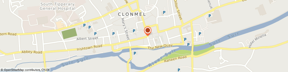 Route/map/directions to Pound Centre,  Clonmel, 83 O CONNELL ST