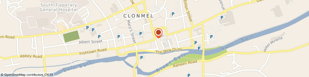 Route/map/directions to ACME Blinds,  Clonmel, 46 Gladstone St