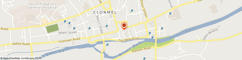Route/map/directions to NARROW SPACE LIMITED, E91 Clonmel, 14 Mitchel Street