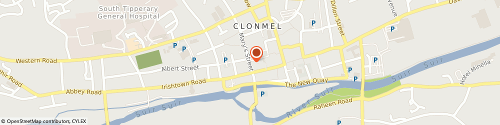 Route/map/directions to Melbourne Glass & Glazing Co,  Clonmel, 6 Mary St