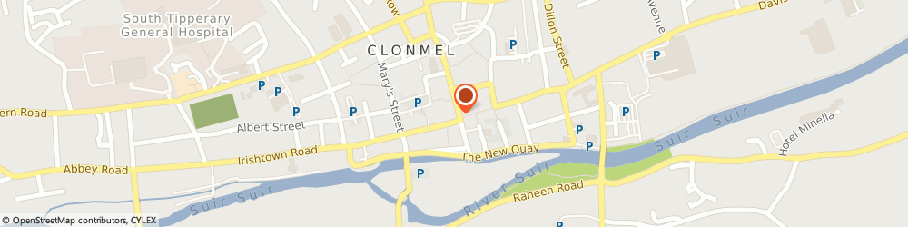 Route/map/directions to Now Casual Clothing Co,  Clonmel, 3 GLADSTONE ST