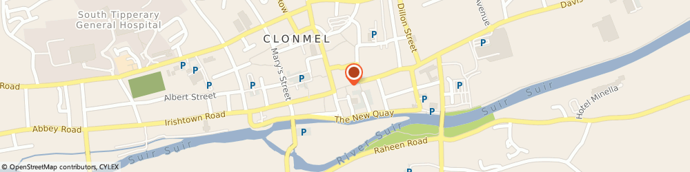 Route/map/directions to RYAN DESIGN, E91 KX76 Clonmel, Mitchell Street