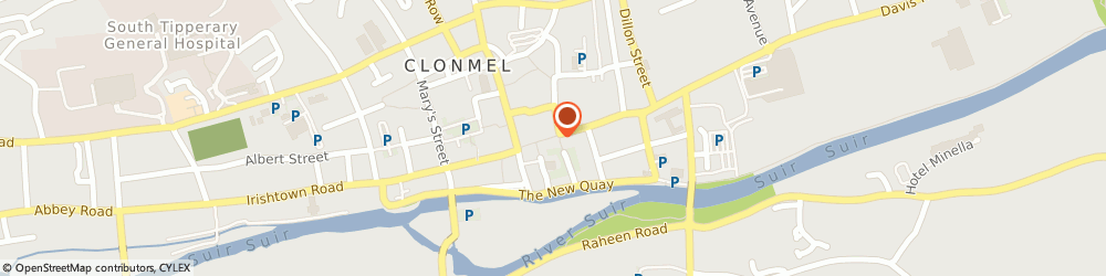 Route/map/directions to Mops,  Clonmel, 35 MITCHEL ST