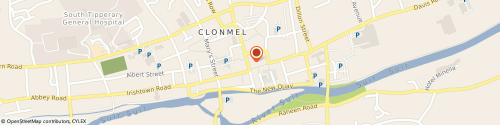 Route/map/directions to In the Wardrobe,  Clonmel, 51 Gladstone Street