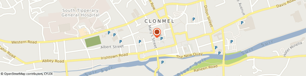 Route/map/directions to K l Collins & Co,  Clonmel, OASIS HO MARY ST