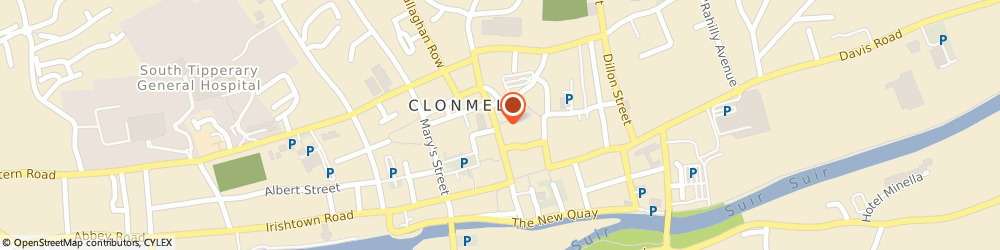 Route/map/directions to Specsavers Clonmel,  Tipperary, 33 Gladstone Street