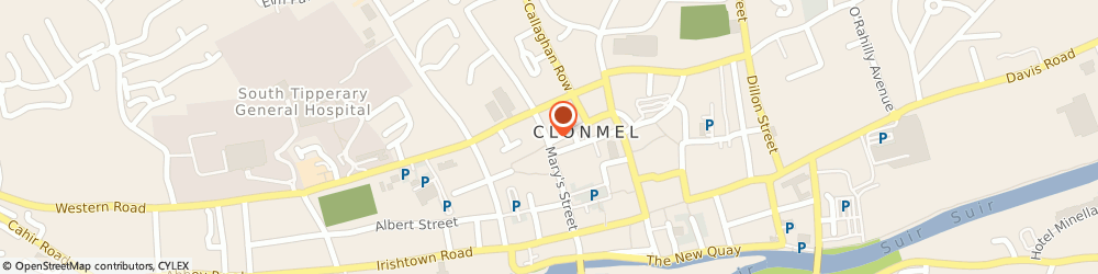 Route/map/directions to Pc Wizard,  Clonmel, THE CORNER SHOP 23 BOLTON ST