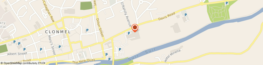 Route/map/directions to Dealz,  Clonmel, Units 19-22 Showgrounds Shopping Centre