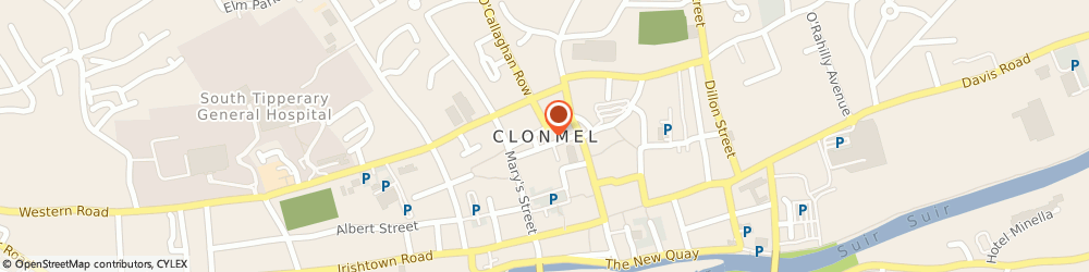Route/map/directions to Forde Cabs,  Clonmel, Giantsgrave