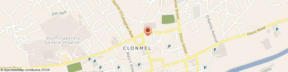 Route/map/directions to James Reilly & Son, E91 X9V2 Clonmel, 4 Brighton Pl