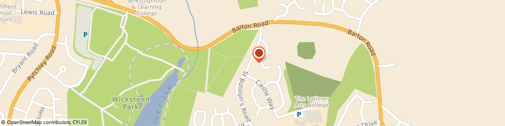 Route/map/directions to Post Office Limited, NN15 6SR Northampton, 47 St Botolphs Road